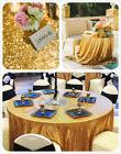 """96"""" Round Sequin Table Cloth Round Wedding Party Festival Se"""