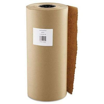 """Kraft Paper 18"""" X 900' Brown One Roll For Packaging Wrap Art"""