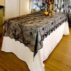Lace Web Table Cloth Cover Halloween Fancy Party Lacey Cobwe