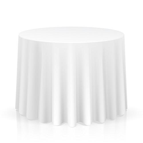 Lann's Linens Premium Polyester Tablecloth - for Wedding, Re
