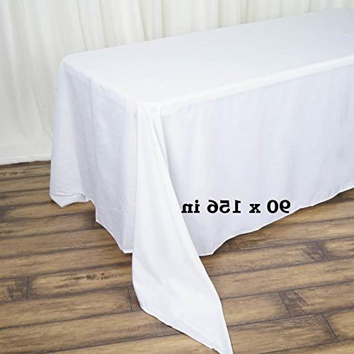 LinenTablecloth 156-Inch Rectangular