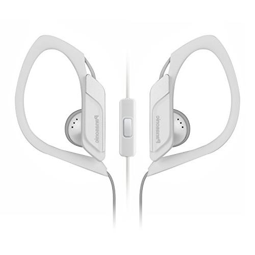 Panasonic Sports Clip Earbud Headphones with Mic/Controller