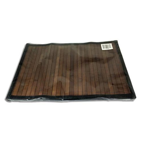Stylish Placemat Brown - Black Border Sustainable
