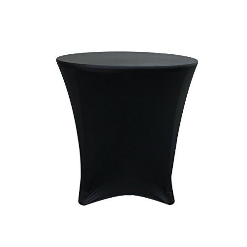 Your Chair Covers - 30 x 30 inch Lowboy Cocktail Round Stret