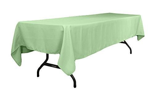 ak rectangular polyester tablecloth