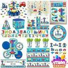 All Aboard Party Baby 1st Birthday Decorations Tableware Bal