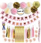 Baby Shower Decorations Girl Pink and Gold Mommy to Be Banne