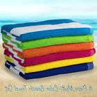 6 Pack Large Beach Towels Cabana Hotel Stripe Pool Towel Cot