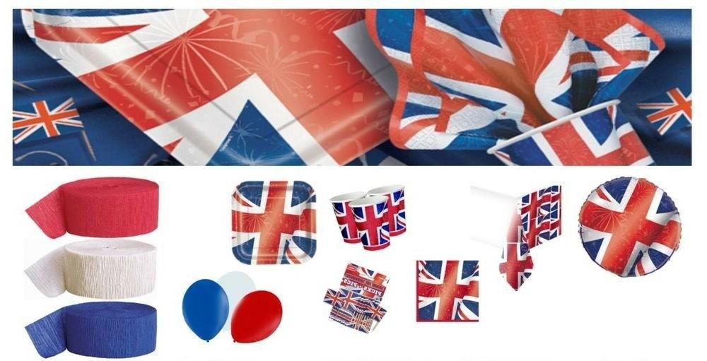 Best Of British Union Jack Party Decorations Supplies Royal