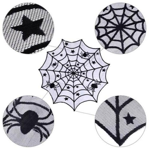 Black Tablecloth Table Cover Halloween