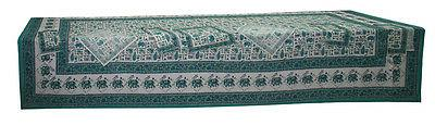 block print table cloth table cover 340