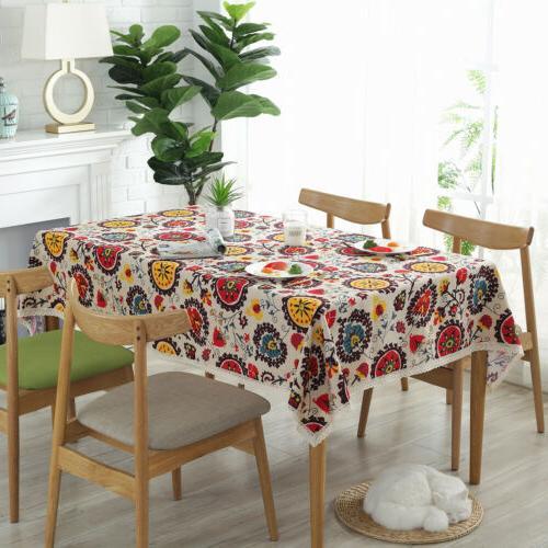 Cotton Stripe Table Linen Decor
