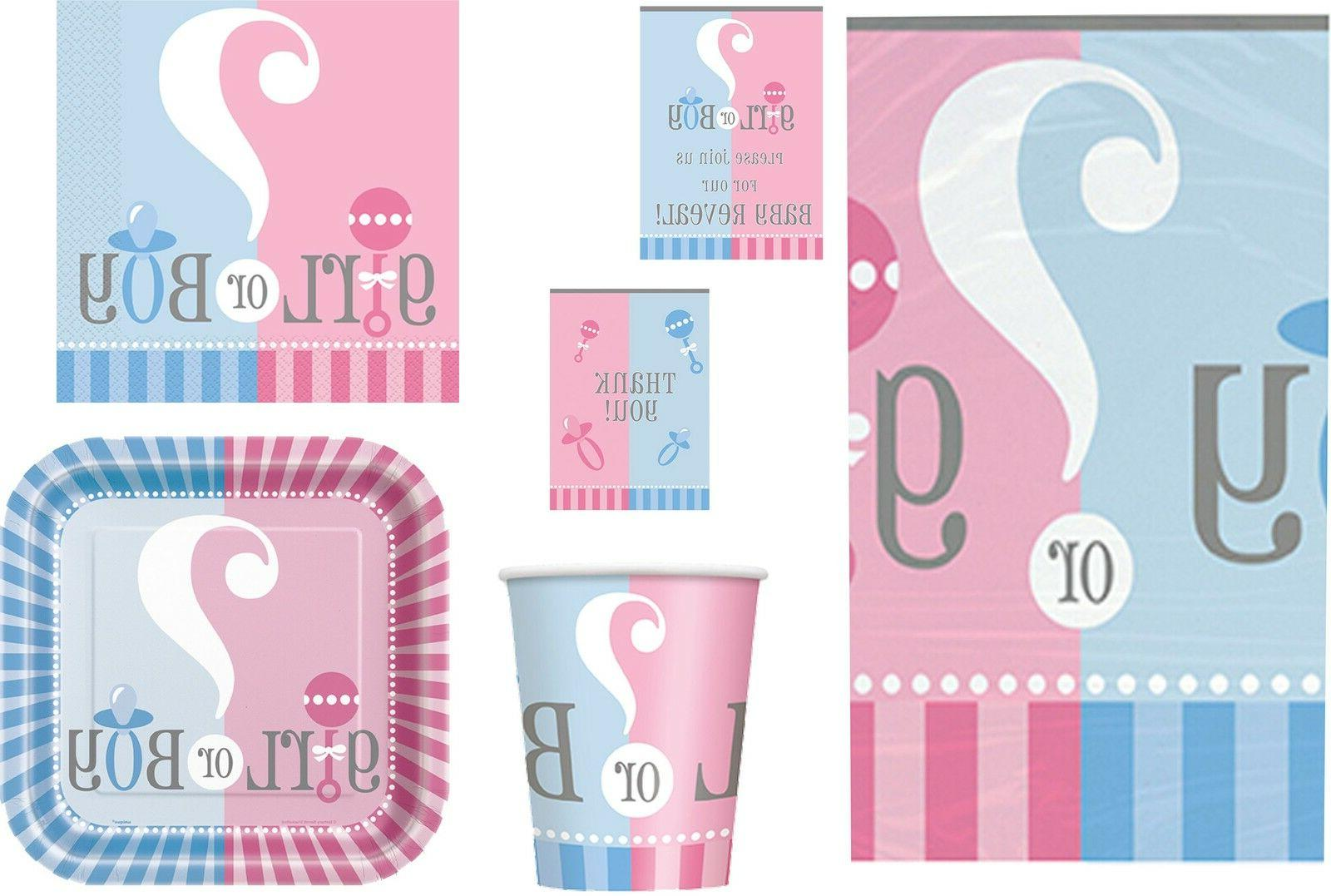boy girl neutral baby shower party napkins