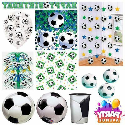 Championship Football Soccer Birthday Party Tableware Decora