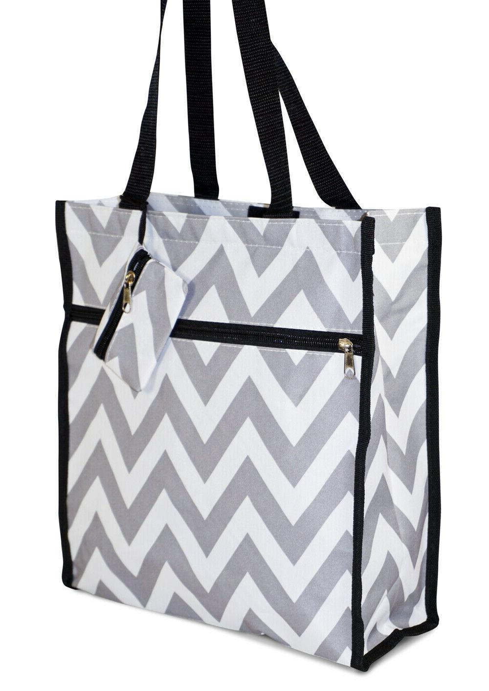 chevron womens small tote bag handbag purse