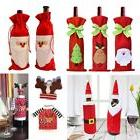 Christmas Decoration Santa Wine Bottle Cover Bag Xmas Dinner