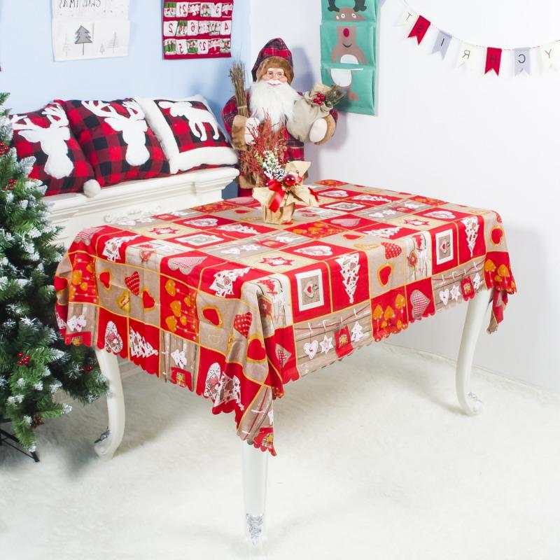 Christmas Decorative Dinning Xmas Santa Pattern
