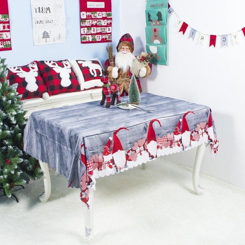 christmas dinner tablecloth font b rectangle b