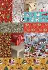 CHRISTMAS OCCASIONS VINYL PVC OIL TABLE CLOTH COVER RED SILV