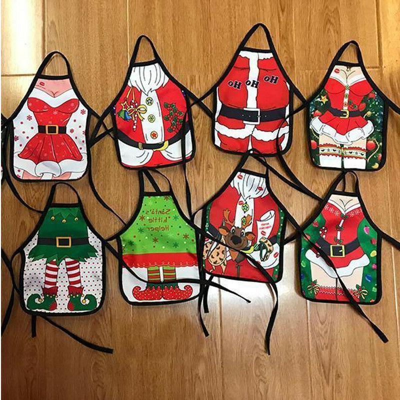Christmas Santa Wine Bottle Apron Cover Wrap Xmas Dinner Par