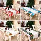 Christmas Table Cloths Rectangular PE Waterproof Tablecloth