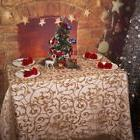 Christmas Theme Cotton Lace Wedding Table Cover Fitted Stret