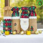 Christmas Wine Bottle Cover Clothes Set Xmas Ornament Santa