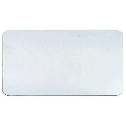 clear plastic desk pad mat