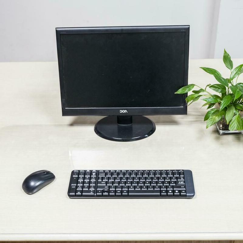Clear Soft Glass Protector Desk Mat Rectangle Table Cover