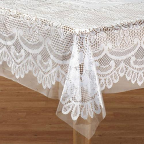 clear vinyl table cover protector round oblong