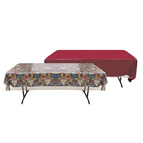 clear vinyl tablecloth cover
