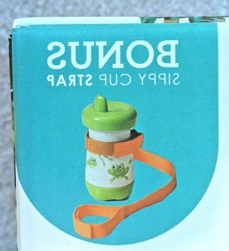 Infantino Compact & Bonus Sippy Strap 2 in 1 Germ