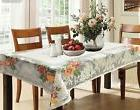 Kuber Industries Cotton Dining Table Cover for 6 Seater- Cre