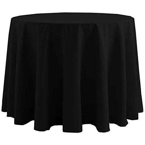 cotton feel round tablecloth