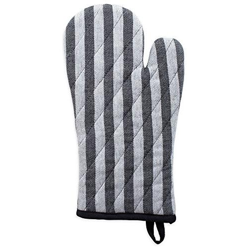 DII Cotton Resistant Kitchen Mitts Farmhouse Chic Geometric Home, ,