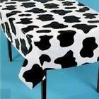 Cow Print Tablecloths Fun Express Lightweight Set 6 Pieces T