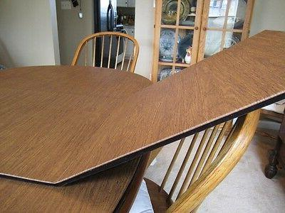 CHESTNUT LEATHER TONE CUSTOM DINING TABLE PADS KITCHEN PAD C