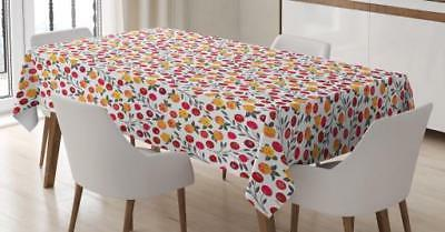 cranberry tablecloth 3 sizes rectangular table cover