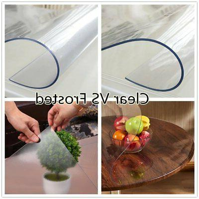 OstepDecor Frosted PVC Table Cover  