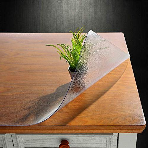 custom multi thick frosted table