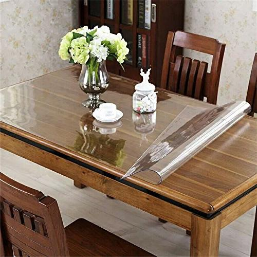 OstepDecor Custom PVC Desk Desk Pad - x 24 Inch Plastic Table Rectangular Table Protector