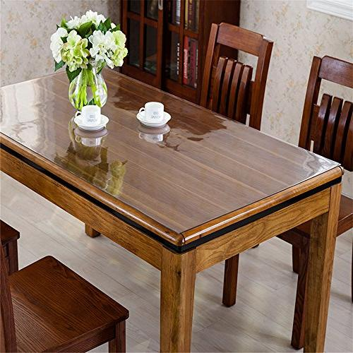 OstepDecor Custom 2.0mm PVC Desk Clear Desk 36 x Inch Table Table Protector