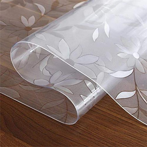 OstepDecor Custom Thick Floral Protector Dining Plastic Cover x Inches