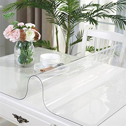OstepDecor 1.5mm Crystal Clear PVC Cover Pads Mats | Square 28 x