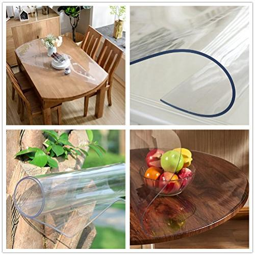 OstepDecor PVC Desk Protector x 24 Table Cover Table