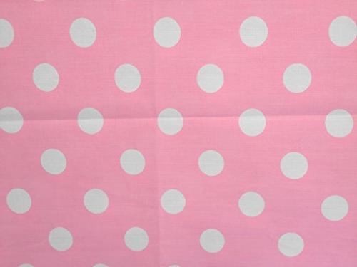 decorative cotton tablecloth white polka