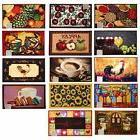 Decorative Kitchen Home Food Prints Rug Floor Mat Carpet Rec