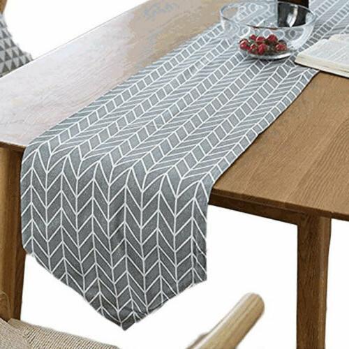 Decorative Cloth Cotton Linen Rectangular