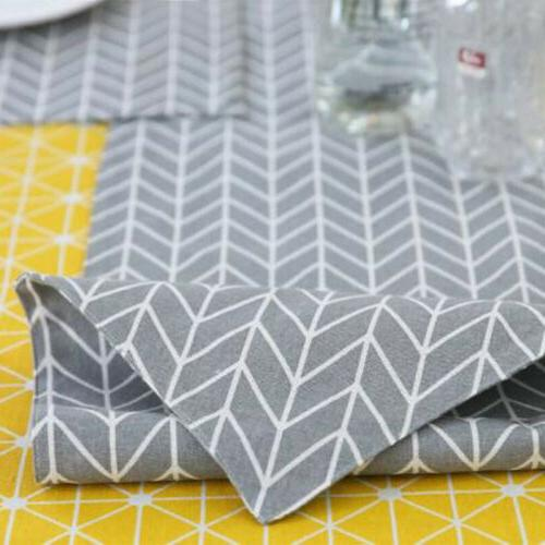 Decorative Table Cloth Linen Rectangular Dining Cover Quality