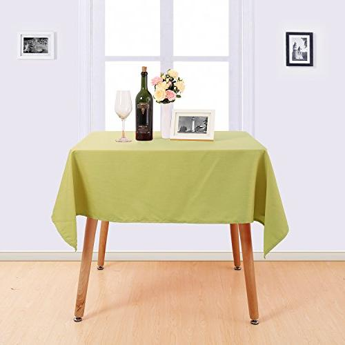 decorative water resistant table cover